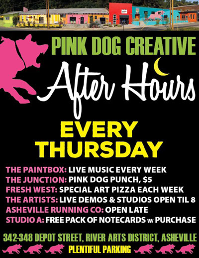 Pink Dog Creative After Hours
