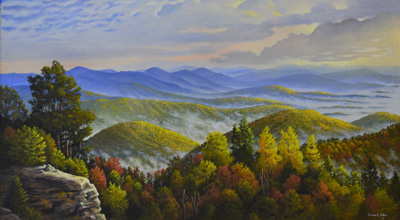 On the Blue Ridge, Richard Baker